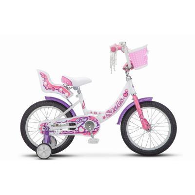 Велосипед STELS ECHO 9,5'' белый/розовый артV020
