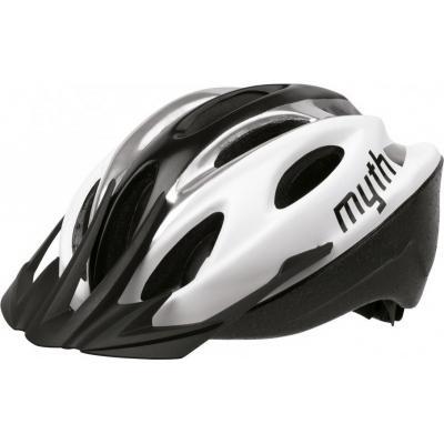 Шлем вело Polisport MYTH (M 52/56) WHITE/SILVER