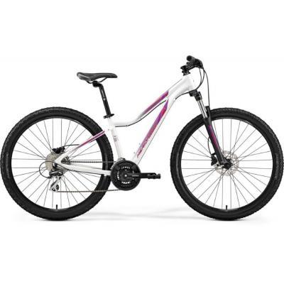 Велосипед Merida Matts 7.20 18,5''L '20 PearlWhite/Pink (27,5'')