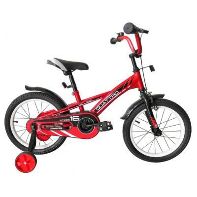 Велосипед TechTeam Quattro 16' красный (сталь)