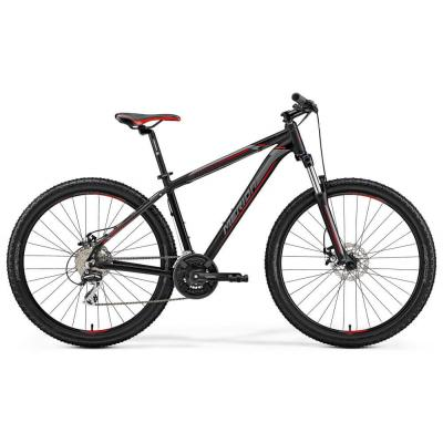 Велосипед Merida Big 7 20-MD 17''M '19 MattBlack/Silver/Red (27,5'')