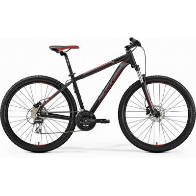 Велосипед Merida Big 7 20-D 17''M '19 MattBlack/Red/Silver (27,5'')