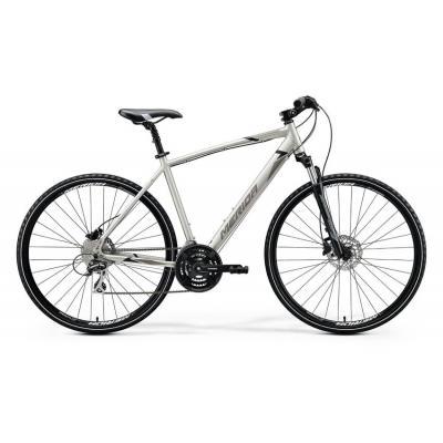Велосипед Merida Crossway 20-D 48cm SM '20 Silk Titan/Black/Grey (700C)