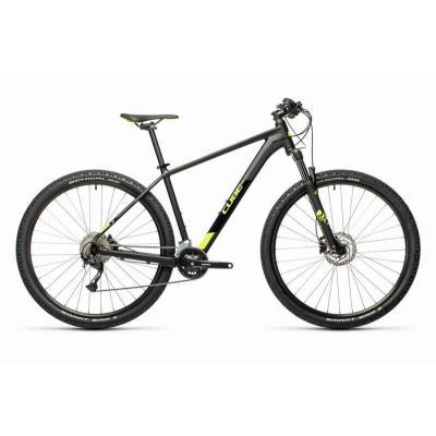 Велосипед CUBE AIM EX 29 black'n'flashyellow 19'' 21'