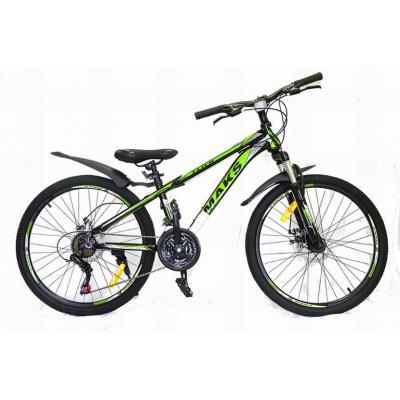 Велосипед TM MAKS, FLIER DISC 13' черно/зеленый