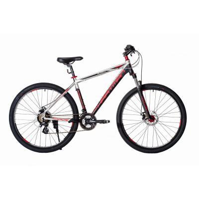 Велосипед HARTMAN Ingword Pro LX Disk 19 21ск. алюм, черно-серо-красный мат