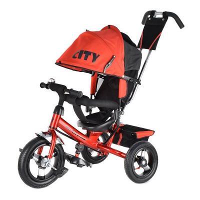 Велосипед 3-х кол JW7RB красный, надув. шины