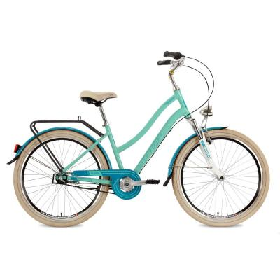 Велосипед Stinger Verona 15'', 3-ск V-br, зеленый