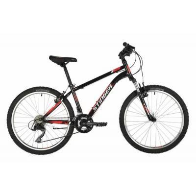 Велосипед Stinger Caiman V, 14'' сталь, черный(2021)