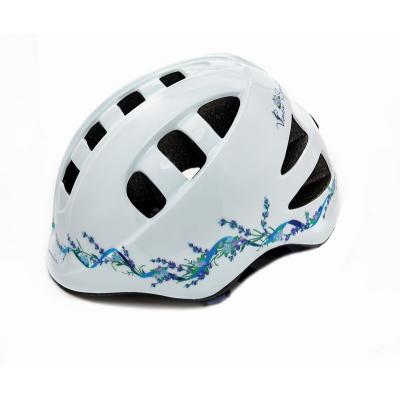 Шлем детский М(52-56) VSH 14 белый-лаванда