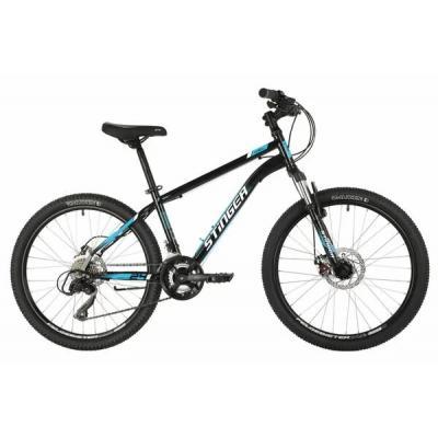 Велосипед Stinger Caiman D, 12'' сталь, черный (2021)