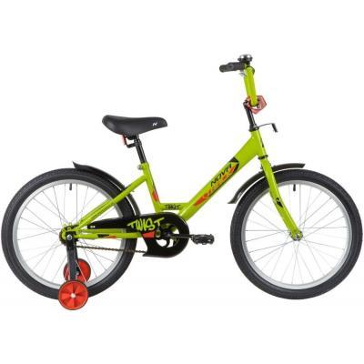 Велосипед NOVATRACK 20'',TWIST, зеленый, GN20
