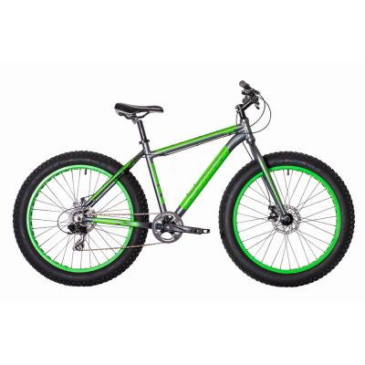 Велосипед HARTMAN Forse Pro 21 Fat-Bike 8ск. алюм серый/ораневый