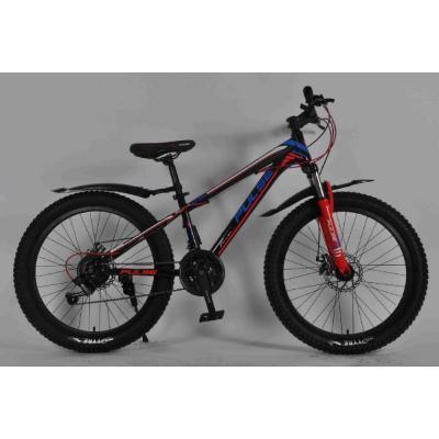 Велосипед PULSE MD230 полу FAT черно/синий/оранжевый