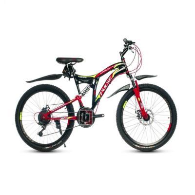 Велосипед PULSE MD2670 черный/красный/желтый
