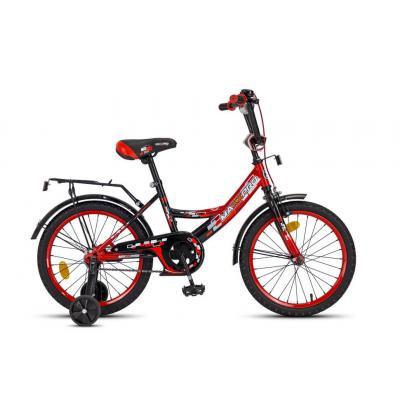 Велосипед MAXXPRO-М18-1 красно-черный