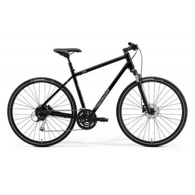 Велосипед Merida Crossway 100 55cm L '21 GlossyBlack/MattSilver (700C)