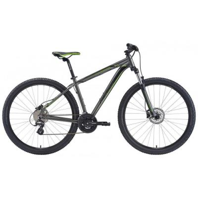 Велосипед Merida Big Nine 15-D 19''L '20 SilkAnthracite/Green/Black (29'')