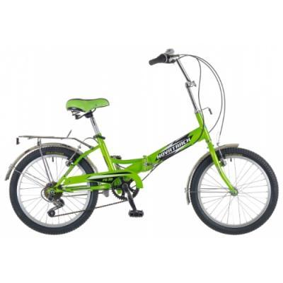 Велосипед NOVATRACK 20'', FS30, скл. 6-ск, салатовый