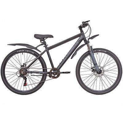 Велосипед RUSH HOUR NX 625 Disc AL 14'' 6ск черный