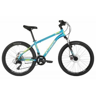 Велосипед Stinger Caiman D, 14'' сталь, синий(2021)