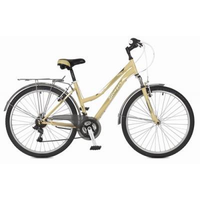 Велосипед Stinger VICTORIA V, 15'' сталь, бежевый(2021)