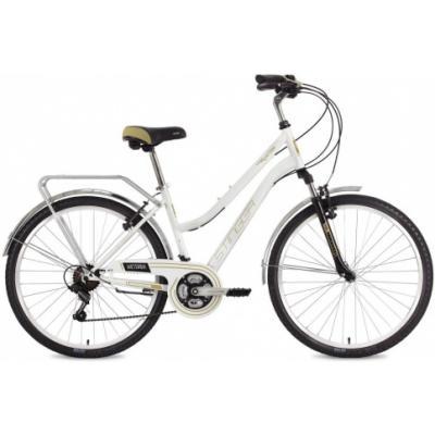 Велосипед Stinger VICTORIA V, 17'' сталь, белый(2021)