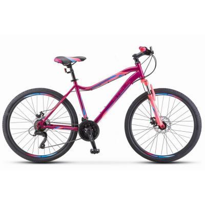 Велосипед Stels Miss-5000 MD 18 Фиолетовый/розовый арт.К010