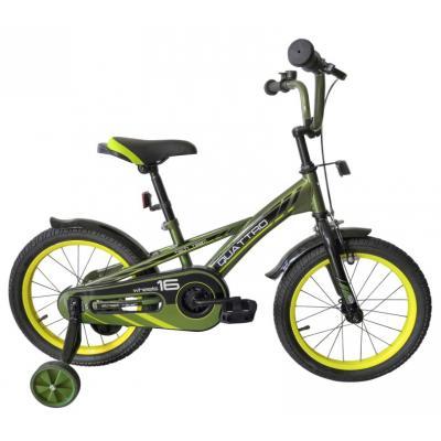 Велосипед TechTeam Quattro 14' хаки (сталь)