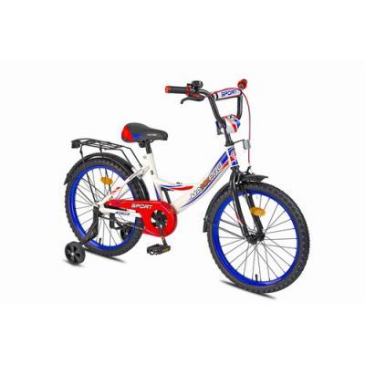 Велосипед MaxxPro Sport Z18209 бело-сине-красный