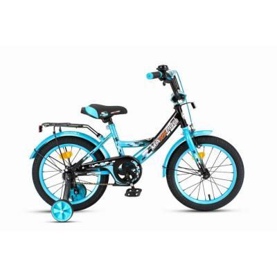 Велосипед MAXXPRO-16-4 лазурно-черный