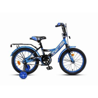 Велосипед MAXXPRO-М16-4 сине-черный