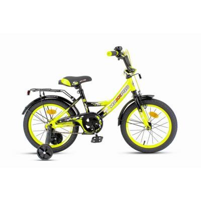 Велосипед MAXXPRO-16-2 желто-черный