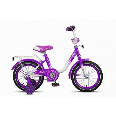Велосипед MaxxPro M14-5 бело-розовый