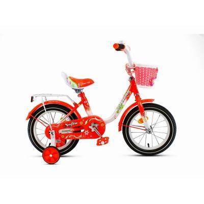 Велосипед MaxxPro SOFIA-М14-6 оранжево-белый