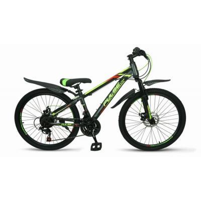 Велосипед PULSE MD1000 оранжевый/желтый/синий