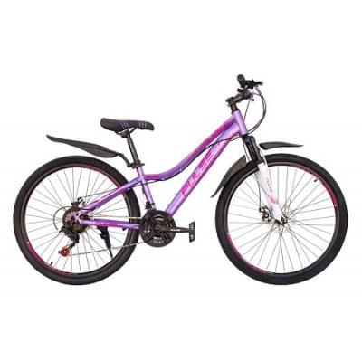 Велосипед PULSE MD4000 17 черный/оранжевый/зеленый
