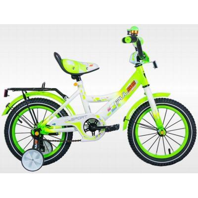 Велосипед PULSE 1602-4 белый/св.зеленый