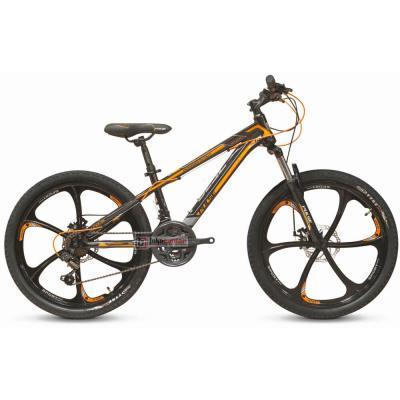 Велосипед PULSE MD 200L черный/красный, литые