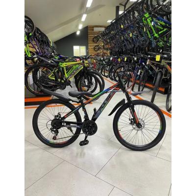 Велосипед PULSE MD200 серый/сине-желтый