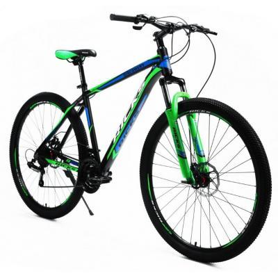 Велосипед Ricks Taylor Disc 18'' 21ск.ALLUM, black/green/blue (2021)
