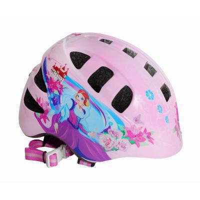 Шлем детский S(48-52) VSH 8 розовый-принцесса Катя