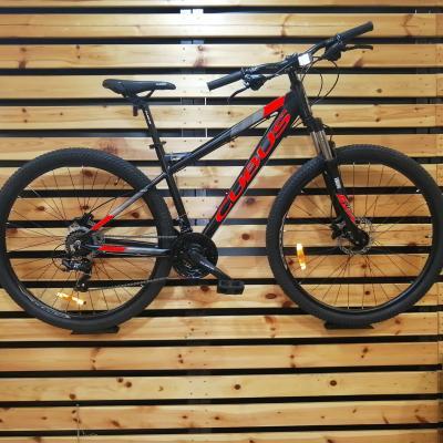Велосипед Cubus 20-30 6ск. черно/зеленый