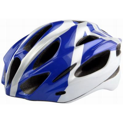Шлем защитный MV-16 (in-mold) красно-бело-синий
