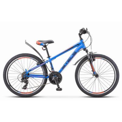 Велосипед Stels Navigator-400 V12 синий/красный артF010