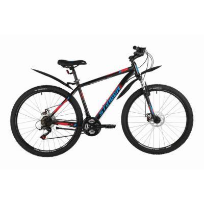Велосипед Stinger Caiman D 18 черный (2021)