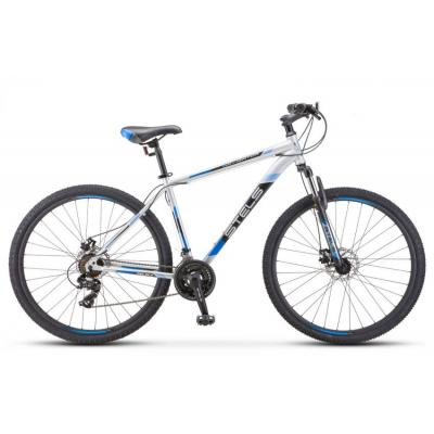 Велосипед Stels Navigator-500 MD 18'' серебристый/синий F010