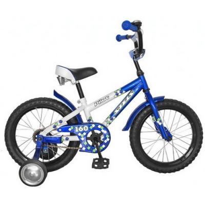 Велосипед STELS Pilot-160 8,5 белый/синий