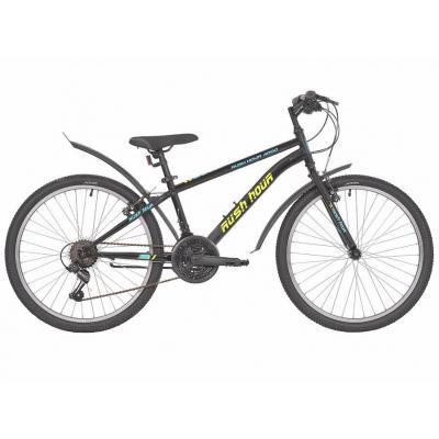 Велосипед RUSH HOUR 4000 V-br ST 13'' 18ск черный