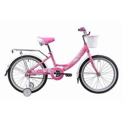 Велосипед 20 Вел-д NOVATRACK 20'', GIRLISH Line, розовый, алюм.